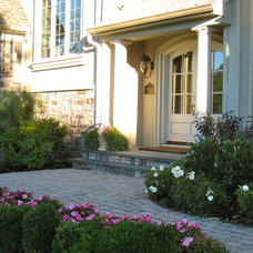 Traditional Exterior by Maureen Fiori, AKBD, Allied Member ASID, CAPS