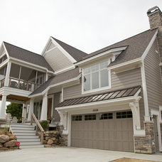 Traditional Exterior by David C Bos Homes