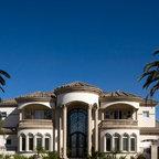 Grand Mediterranean Estate Mediterranean Exterior
