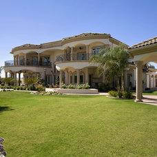 Mediterranean Exterior by Sweaney Custom Homes, Inc.