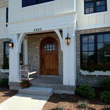 Traditional Exterior by Jennifer Butler Interior Design