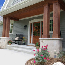 Traditional Porch by Highland Builders LLC