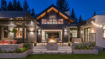 Gray's Crossing, Mountain Modern, Golf Course Home