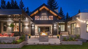 Gray's Crossing, Mountain Modern, Golf Course Home