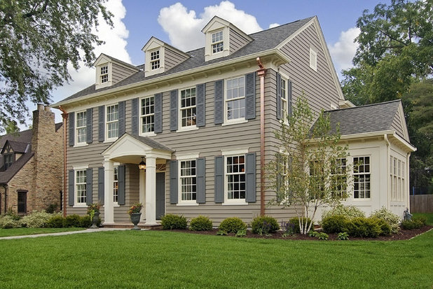 Amazing Traditional Exterior By Great Neighborhood Homes Photo