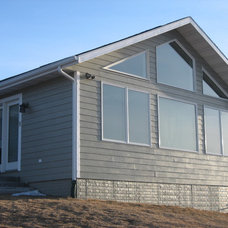 Traditional Exterior by Premier Construction Services