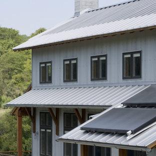 Green Dirt Farm - solar hot water panels