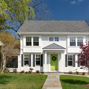 Green Door Colonial Renovation
