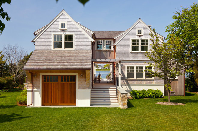 Beach Style Exterior by Hutker Architects
