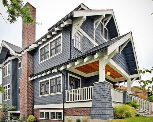 Photos d 39 architecture et id es d co de fa ades de maisons for Maison moyenne