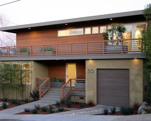 Mid Century Garage Doors Houzz