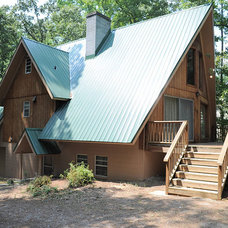 Traditional Exterior by Advanced Metal Roofing