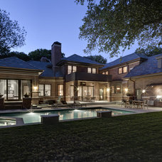 Traditional Exterior by Domiteaux + Baggett Architects, PLLC
