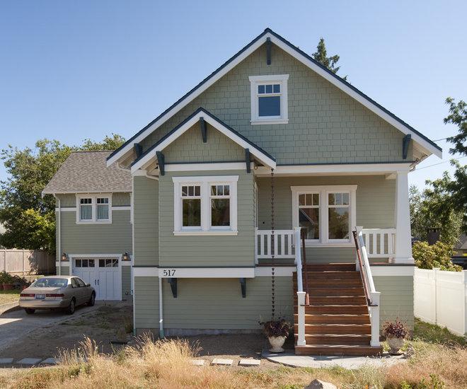 Craftsman Exterior by Ventana Construction LLC