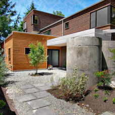 contemporary exterior by Fivedot Design Build