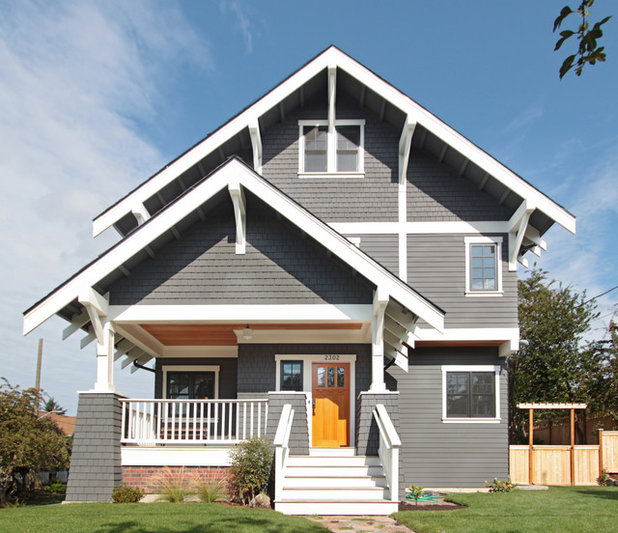 Craftsman Exterior by First Lamp