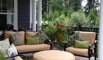 Greensboro Winston Salem Open Porch with Pergola