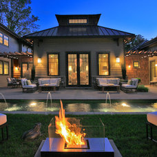 Eclectic Exterior by Mark Turner