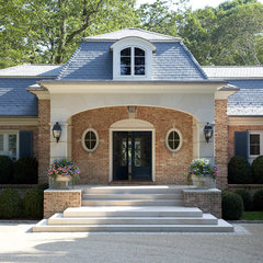 traditional exterior by James Schettino Architects