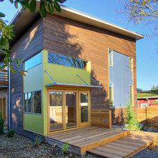 Modern Exterior by Ninebark Design Build LLC