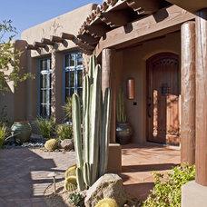 Southwestern Exterior by Giesen Design Studio LLC