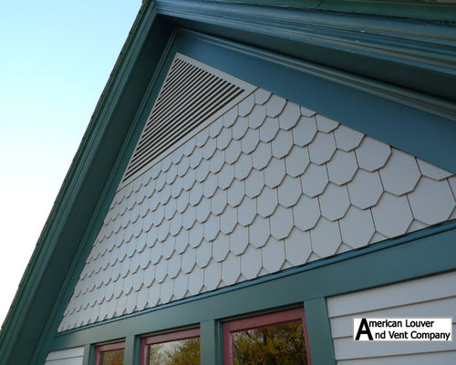 Triangle Gable Vent Louver Home Design Ideas Renovations