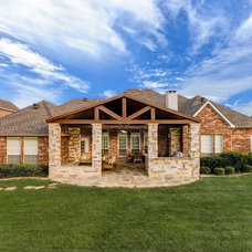 Traditional Exterior by 708 Studios, LLC