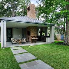 Eclectic Exterior by RD Architecture, LLC
