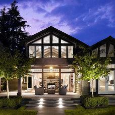 Contemporary Exterior by Heffel Balagno Design Consultants