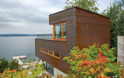 Houzz Tour: A Lakeside Guesthouse Rises to the Challenge