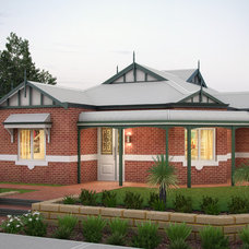 Traditional Exterior by Your Building Broker