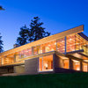 Houzz Tour: All Glass Outside, Warm Wood Inside