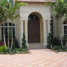 Mediterranean Exterior by Robelen Hanna Homes - Luxury Homes & Remodeling