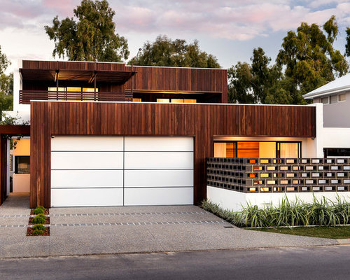 Mid Century Modern Fence Home Design Ideas Pictures Remodel And Decor