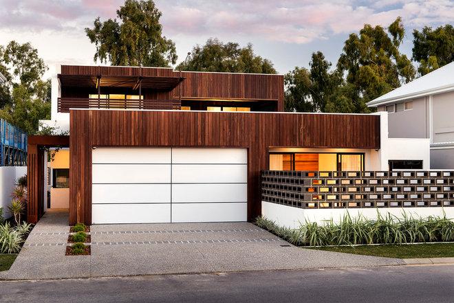 Contemporary Exterior by Residential Attitudes