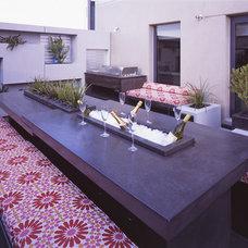 Contemporary Exterior by H2O Designs