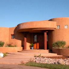 Southwestern Exterior by Wylie Architecture Planning Interior Design