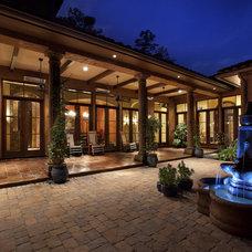Southwestern Exterior by Eklektik Interiors