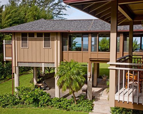 Tropical House On Stilt Home Design Ideas Photos