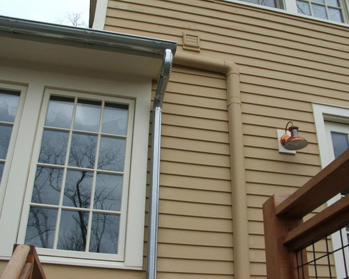 Round Galvanized Gutters Ideas Pictures Remodel And Decor