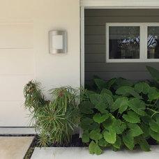 Contemporary Exterior by Hollub Homes