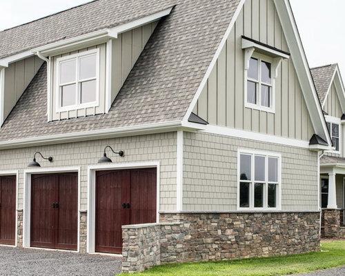 Exterior Design Ideas Remodels Photos With Concrete Fiberboard Siding