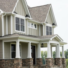 Craftsman Exterior by COUNTRY LIVING ASSOCIATES