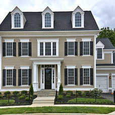 Traditional Exterior by Mitchell & Best Homes