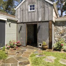 Rustic Exterior by Mark English Architects, AIA