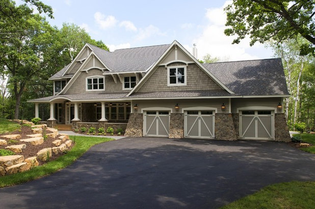 Traditional Exterior by Divine Custom Homes