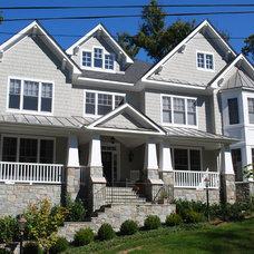 Craftsman Exterior by Sunline Custom Homes, LTD.