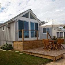 Beach Style Exterior by Naiztat + Ham Architects, P.C