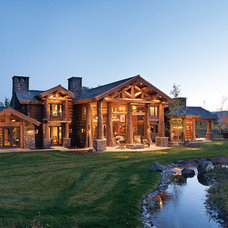 Rustic Exterior by M.T.N Design