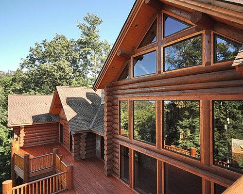 Asheville Custom Log Home